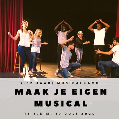 'MAAK JE EIGEN MUSICAL' | MUSICALKAMP  (1e-6e LEERJAAR)